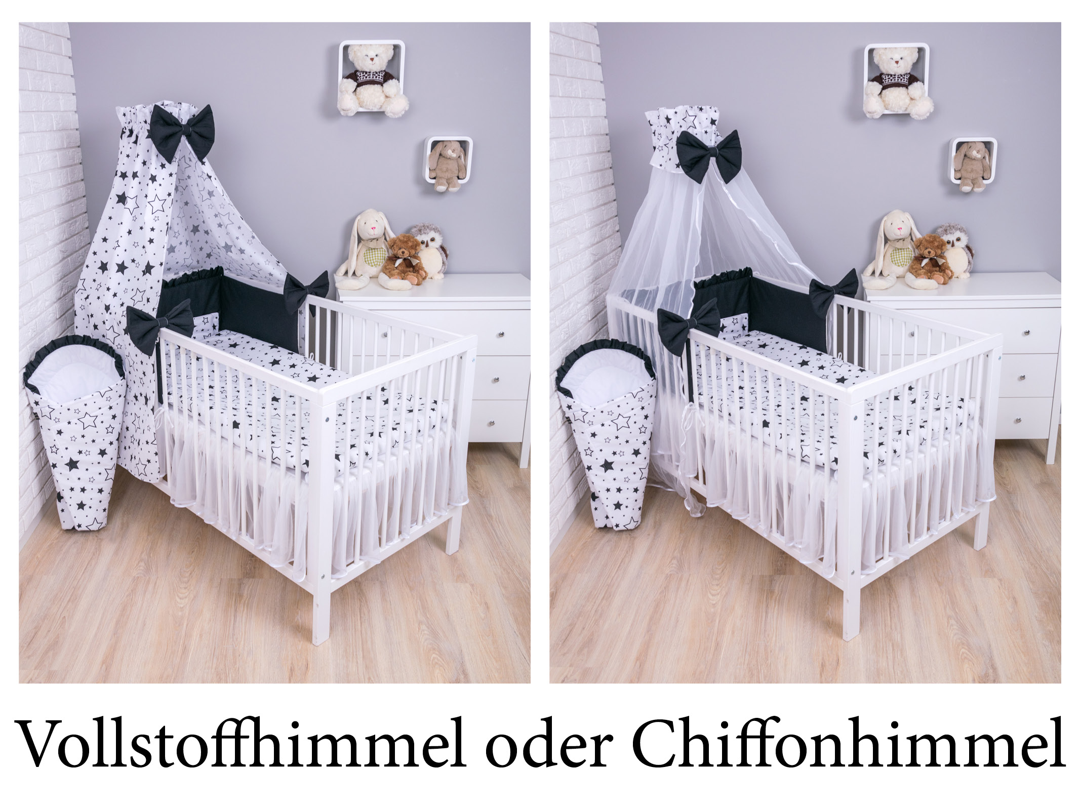 baby bettw sche bettset mit nestchen kinderbettw sche himmel 100x135cm 7 tlg ebay. Black Bedroom Furniture Sets. Home Design Ideas
